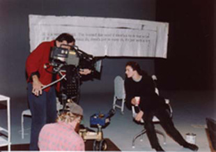 Leon Narbey filming Act of Murder